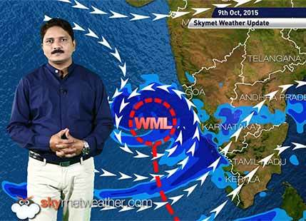 [Hindi] Weather Forecast for October 09, 2015: Skymet Weather