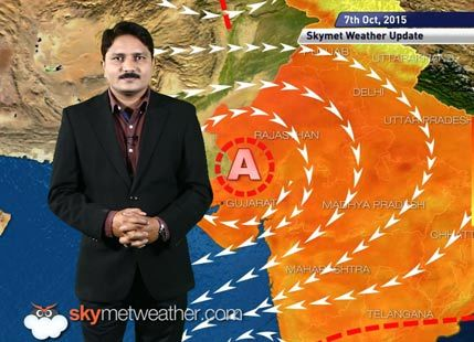 [Hindi] National Weather Video Report For 07-10-2015