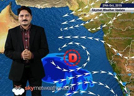 [Hindi] Weather Forecast for October 29, 2015: Skymet Weather