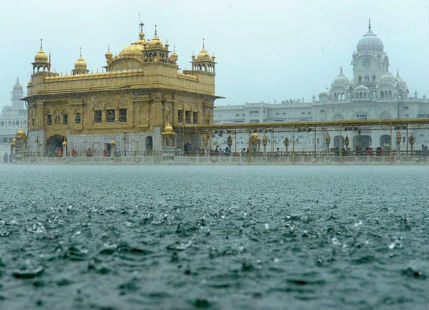 Rain in North India