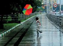 Rain in Kerala and Tamil Nadu