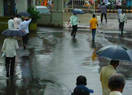 Rain in Peninsular India