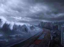 A mega Tsunami with 800 foot wave battered Cape Verde Islands