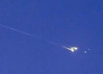Space debris crashes into Indian Ocean
