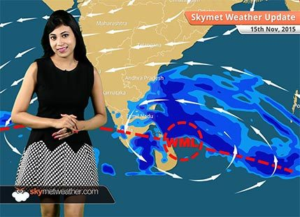 Weather Forecast for November 15, 2015: Skymet Weather