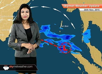 National Weather Video Report For 26-11-2015