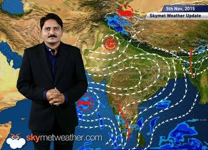 [Hindi] National Weather Video Report For 05-11-2015