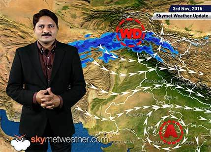 [Hindi] Weather Forecast for November 03, 2015: Skymet Weather