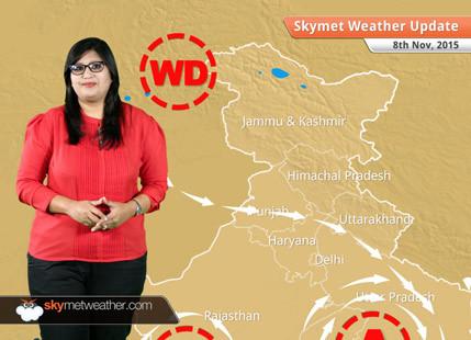 Weather forecast for November 8, 2015: Heavy rains likely over Chennai, Tamil Nadu on Sunday