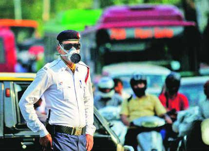 Smog in Delhi NCR