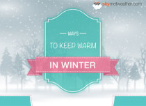 How to keep warm in winter