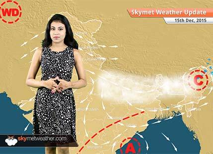 Weather Forecast for December 15: Cold wave conditions in North India while Fog in East