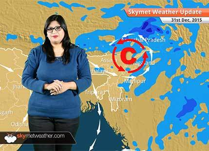 Weather Forecast for December 31: Northeast Monsoon 2015 comes to an end