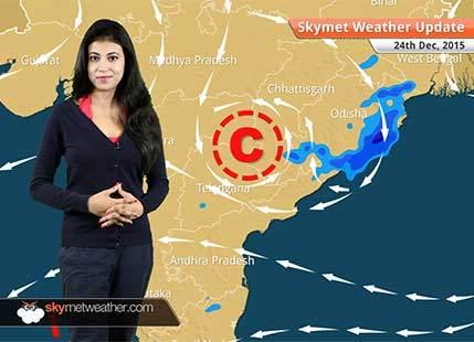 Weather Forecast for December 24: Light rain in Jammu and Kashmir, Tamil Nadu and Kerala