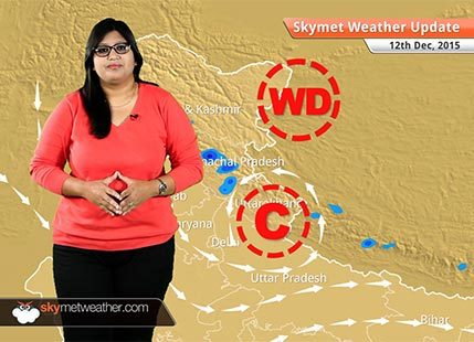 Weather Forecast for December 12: Dry weather over Chennai