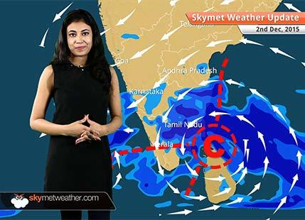 Weather Forecast for December 2: Heavy rain in Chennai, Tamil Nadu, Andhra Pradesh to continue