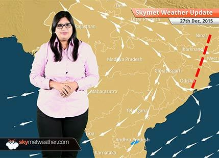 National Weather Video Report For 27-12-2015