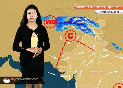 National Weather Video Report For 10-12-2015