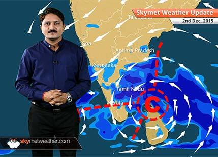 Weather Forecast for December 2: Light rainfall expected over MP, southern UP and Chhattisgarh