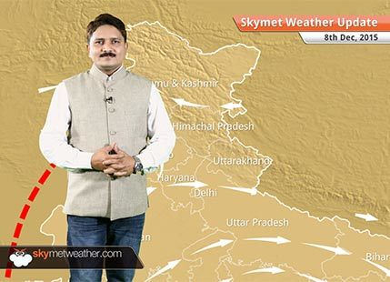 [Hindi] National Weather Video Report For 08-12-2015