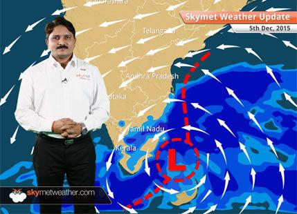 Weather Forecast for December 5: Light rain expected over Assam & Arunachal Pradesh
