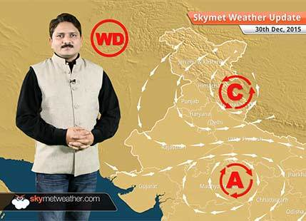 Weather Forecast for December 30: Warm weather conditions continue over Northwest India