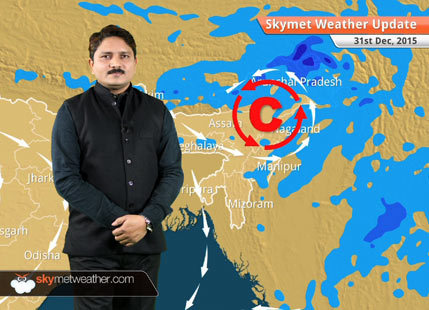 Weather Forecast for December 31: Rain and snow over hills of north India