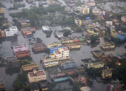 Chennai Floods triggered a 3 billion dollar loss to the Indian Economy