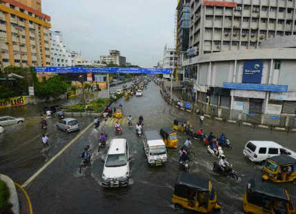 Chennai floods insurance