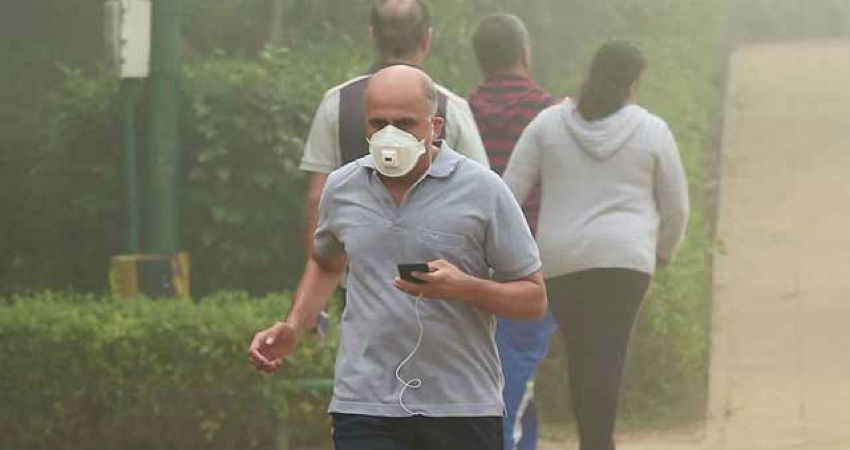 outdoor workout in Delhi