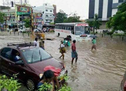 Puducherry rains