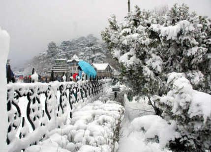 No snow show for hills of North India on Christmas Eve