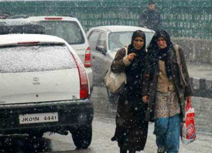 Snowfall expected in Jammu and Kashmir