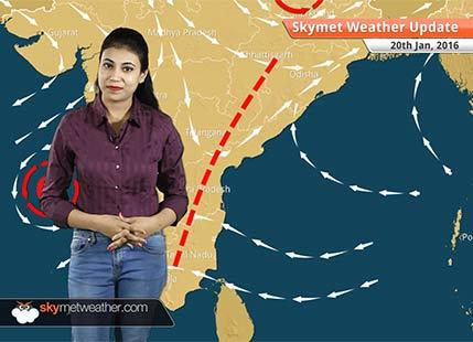 Weather Forecast for January 20: Rain in East, Cold wave conditions in North India