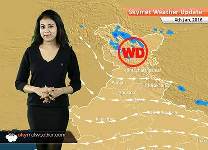Weather Forecast for January 8: Jammu and Kashmir to receive rain and snow