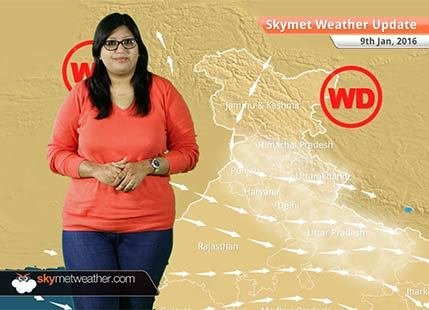 Weather Forecast for January 9: Drop in temperatures to increase wintry chill over North India