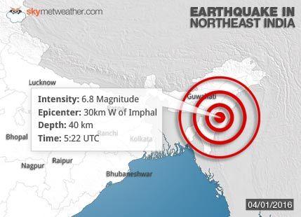 Earthquake Northeast India