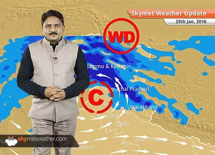 Weather Forecast for January 29: Good rain and snow is expected over Western Himalayas