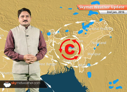 Weather Forecast for January 2: A fresh WD start affecting Jammu Kashmir in next 24 hours