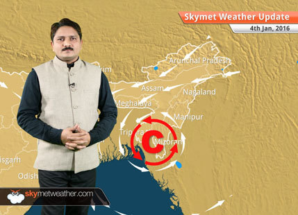 Weather Forecast for January 4: Rain and snow will continue over hills of North India