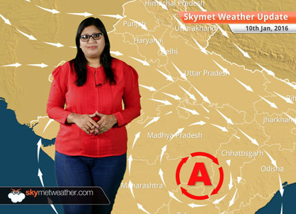 Weather Forecast for January 10: Marginal drop in minimum temperatures over Northwest India