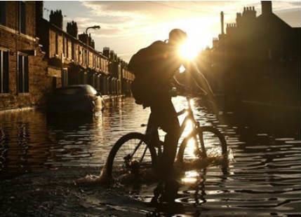 Wettest December in UK