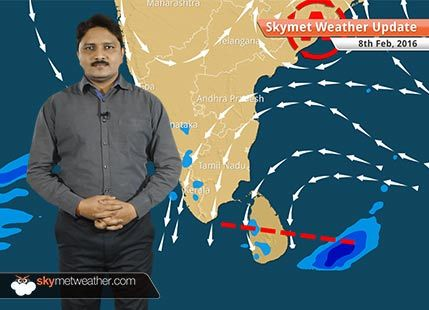 Weather Forecast for February 08: Western Disturbance and rain belt moves eastwards