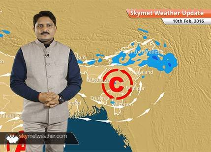 Weather Forecast for February 10: Weather changes again in north India due to Western Disturbance