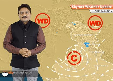 Weather Forecast for February 12: Snowfall will continue over hills of north India