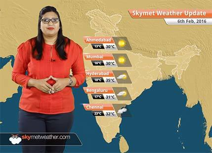 Weather Forecast for February 06: Snow in Jammu Kashmir, rain likely over northwestern plains