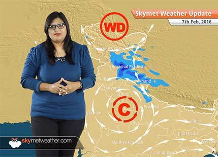 Weather Forecast for February 07: Snow in Jammu Kashmir, rain likely over Punjab, Haryana, Delhi