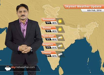 Weather Forecast for February 06: Snow over hills of north, plains may get rain