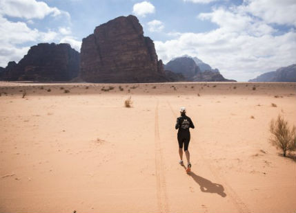 Why one woman is running 40 marathons across 7 deserts for water