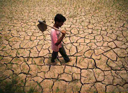 75 percent of the world is facing severe water scarcity